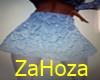 skirt white ZaHoza