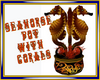 Seahorse Pot with Corals