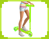 [S] Green Toy Scooter