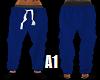 Stem PJ Bottoms Blue