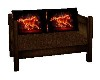 BLAZING SADDLE COUCH