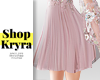 #K. Tulle Skirt in Pink
