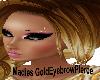 !a Eyebrow pierce Gold L