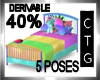 CTG 40% BED/POSES MESHV3
