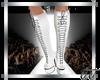 Gia Boots White