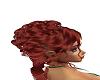 burgundy curls w/emerald