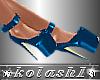 K*Shoes blue platforms