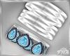 Blue Bracelets R
