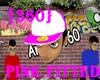 {360}V1 Pink sticker hat