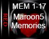  R  Maroon5 - Memories