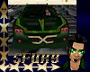 sf Green Sports Car
