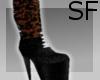 *S*Glitter Boots w/LaceB