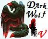 Dark Wolf Wrist FurCuffs