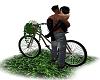 beso en bici