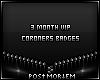 3 Month Badge VIP