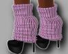 Pinkish Winter Boots
