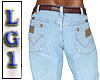 LG1 Light Blue Jeans *