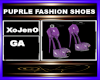 PUPRLE FASHION SHOES