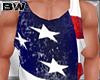 4 USA Flag Tank Shirt V4
