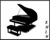 [KMLW]Black Grand Piano