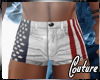 (A) USA Muscle Shorts