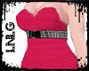 L:BBW Dress-PunkDiva Pnk