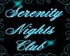 {DD}Serenity Club Sign