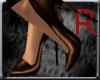 brn gold heels