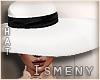 [Is] White Fashion Hat 2