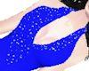 Romantica Dress Blue