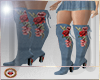 ROSES JEAN BOOTS (RLL)