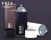 µ Spray Cans