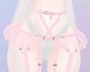 T! Cute Harness - Pinku