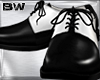 Black White Wedding Shoe