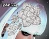 [B] Diamond Hair Flower