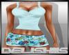 pb| floral shorts