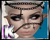 Unholy Face Chains Blk