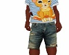 kids boys denim shorts