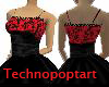 Black and Red lace