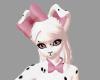 {F} Dalmatiar Collar Bow