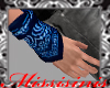 Hand Bandana Blue