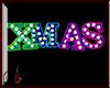 Derivable X-MAS 3D SIGN
