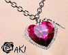 [Aki] RD Heart Necklace