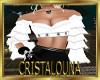 White pirate corset