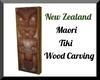 Maori Tiki Carving
