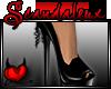 lSxl High Heels Black