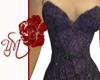 (Y) Purple Goth Dress