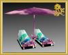 Dolphin Umbrella Lounge