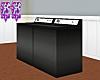 FF~ Black Washer-Dryer