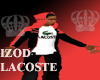 Red Izod Lacoste Hoody